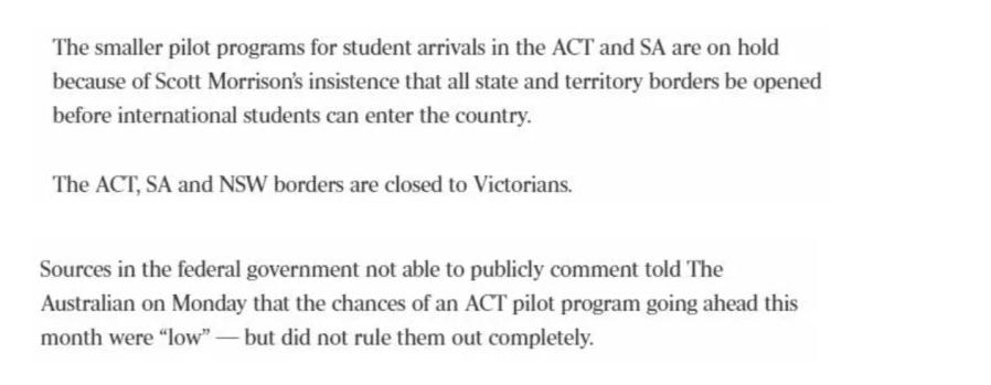 境外学生也有望申请485签证,留学生入境试点计划最新安排!